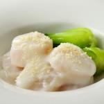 ホタテ貝のクリーム煮
