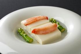 蟹肉と豆腐塩煮