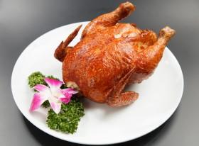 中国風チキン丸焼き(半羽)